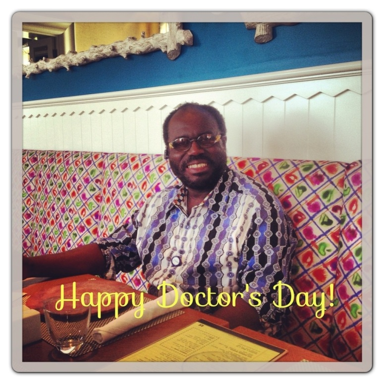 My Dad, Dr. Kofi Sefa-Boakye