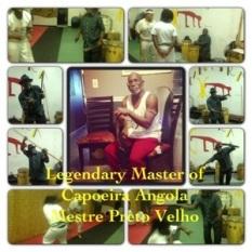 Legendary Mestre Preto Velho