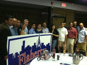 Meet and Greet at Merengue resturant in Roxbury