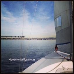 Sailing on Coronado Bay