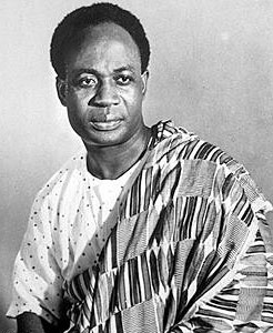 Dr. Kwame Nkrumah (The First Ghanaian President)