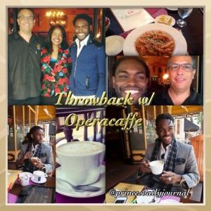 Throwback w/ Operacaffe (princesdailyjournal)