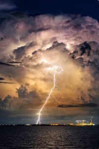 Evening Thunderstorm by William Nguyen-Phuoc