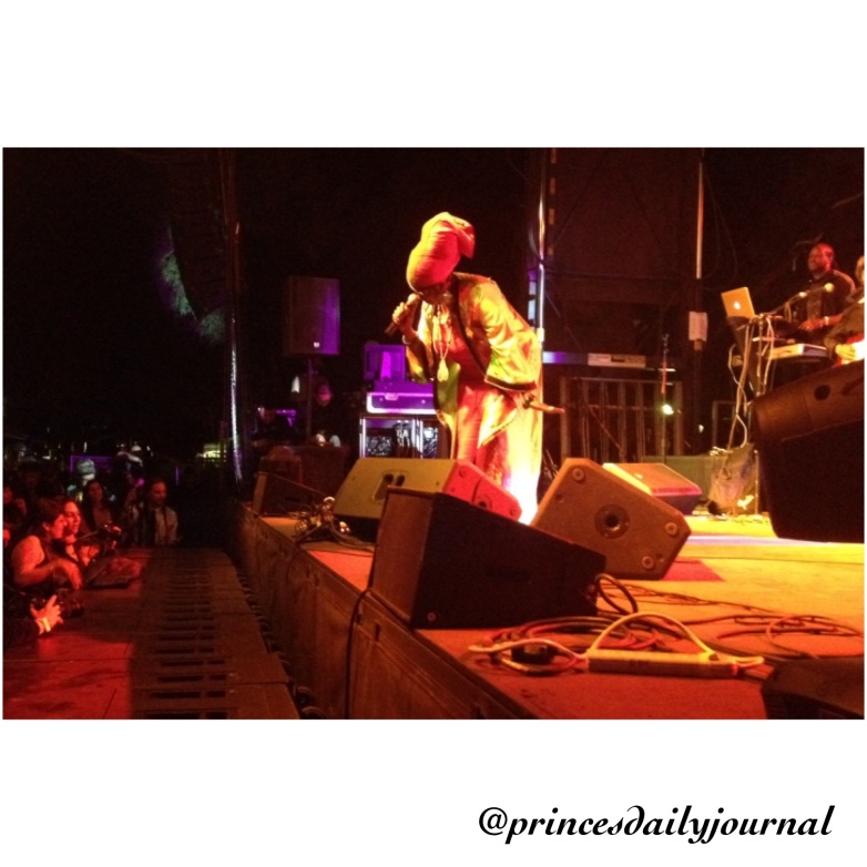 Prince's Daily Journal Reggae Fest