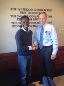 Prince Sefa-Boakye and John Fish Boston 2024 (princesdailyjournal)