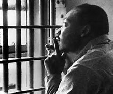 Martin Luther King in Jail (princesdailyjournal)