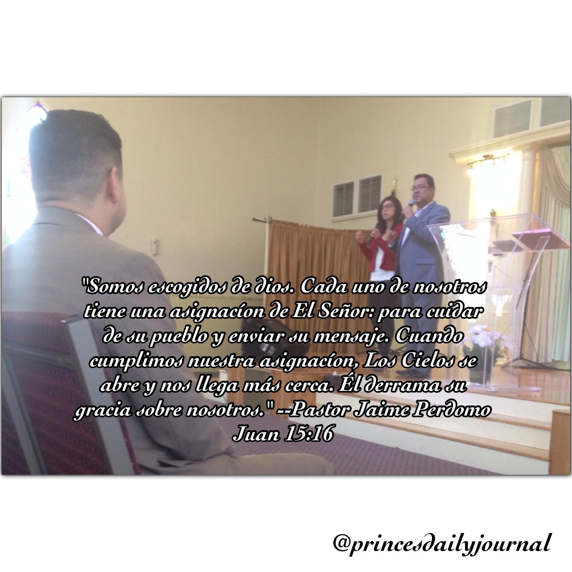 Pastor Jaime Perdomo