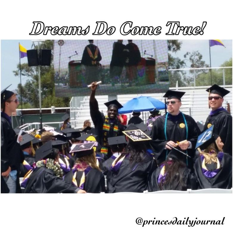 Asante's Graduation (princesdailyjournal)