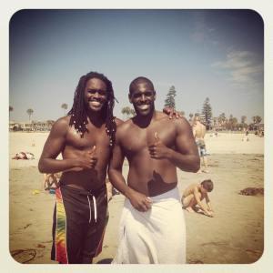 Asante and I